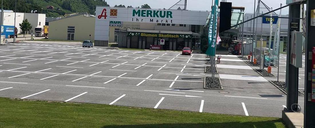 SPM Strassen-Parkplatz-Markierung